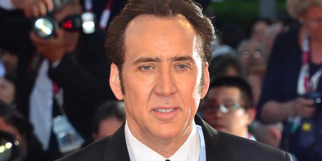 Nicolas Cage breekt enkel tijdens filmopnames