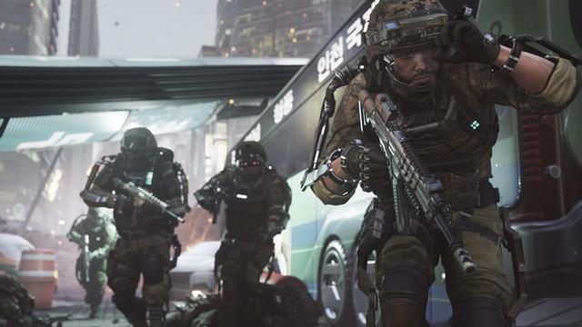 Multiplayer Call of Duty: Advanced Warfare krijgt dynamische maps