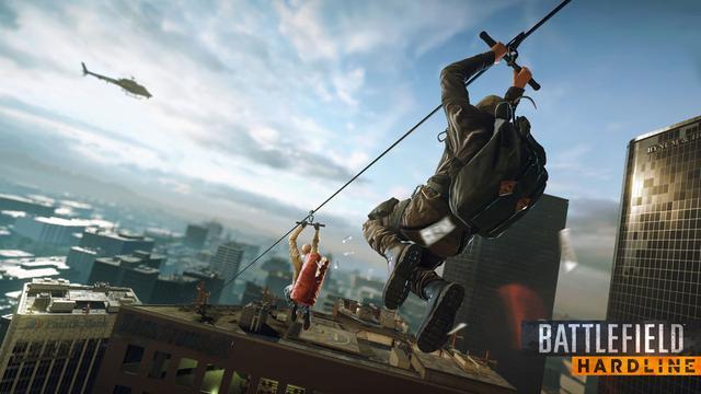 Verhaal Battlefield: Hardline draait om erin geluisde agent