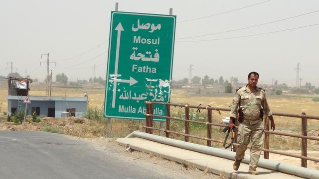 Opmars ISIS in noordoosten van Irak gaat door