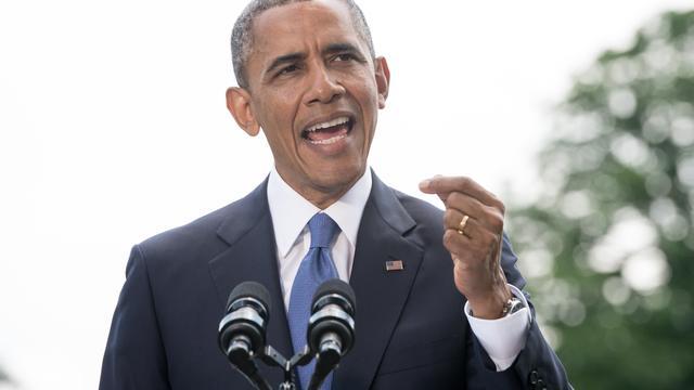 Obama belegt top over Irak