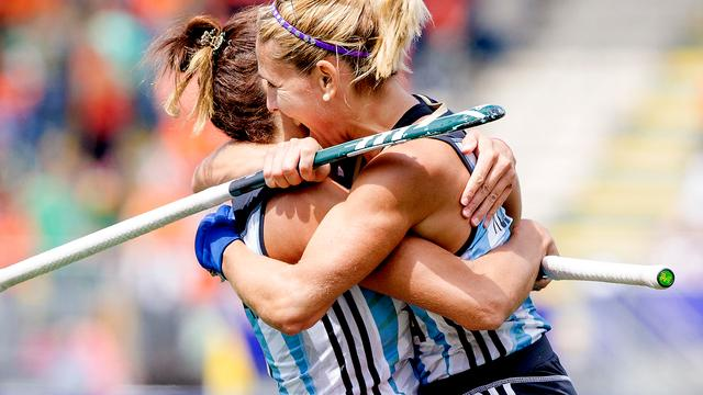 Argentijnse hockeysters pakken brons bij WK