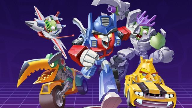Angry Birds-reeks wordt aangevuld met Transformers-game