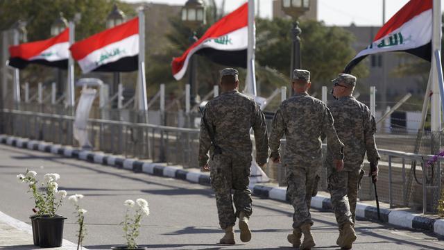 Verenigde Staten sturen militairen naar Irak