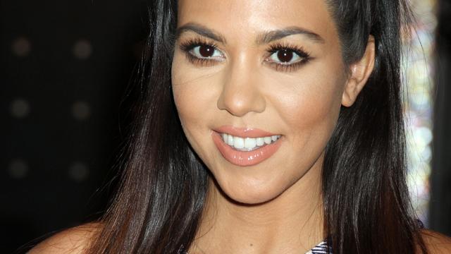 'Kourtney Kardashian zet vriend de deur uit'