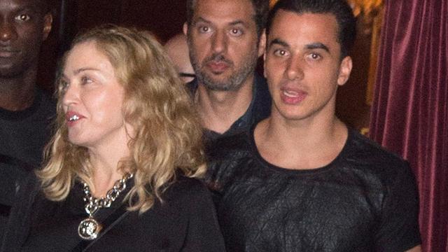 Madonna weer op stap met Timor Steffens
