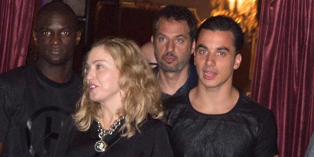 Timor Steffens trekt zich niets aan van reputatie als minnaar Madonna