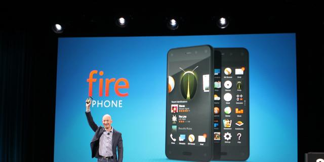 Amazon kondigt smartphone met 3D-scherm aan