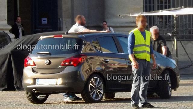 Eerste foto's nieuwe Opel Corsa verschijnen online