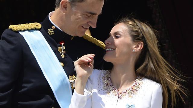 Felipe VI nieuwe koning van Spanje
