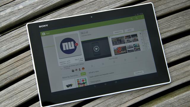 'Sony lanceert volgend jaar 12 inch-tablet'