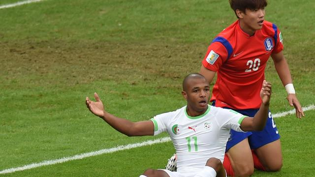 Algerije wint doelpuntrijk duel van Zuid-Korea in groep H