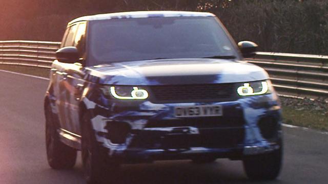 Range Rover Sport SVR is snelste SUV op Nordschleife
