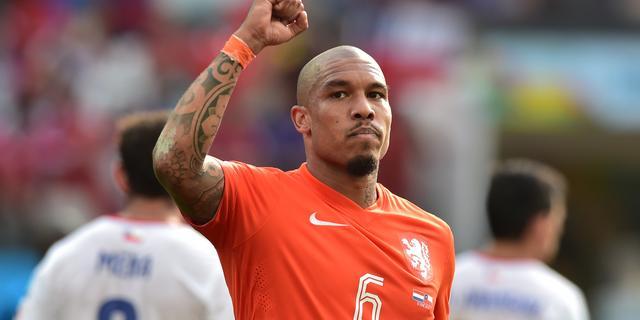 Oranje start met herstelde Nigel de Jong tegen Argentinië