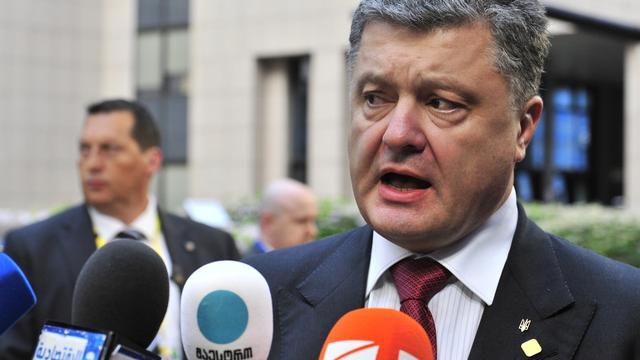 Porosjenko verlengt staakt-het-vuren in Oekraïne niet