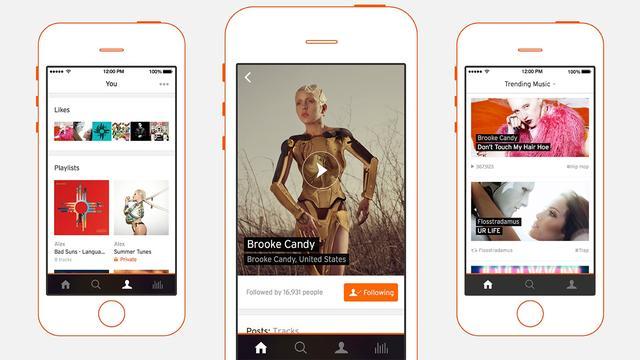 Soundcloud maakt app voor artiesten