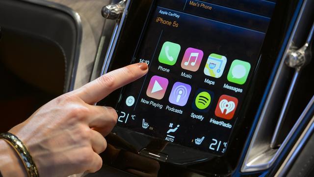 Apples Carplay door negen nieuwe autofabrikanten ondersteund