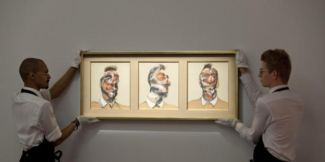 Zeldzame Francis Bacon geveild voor 33 miljoen