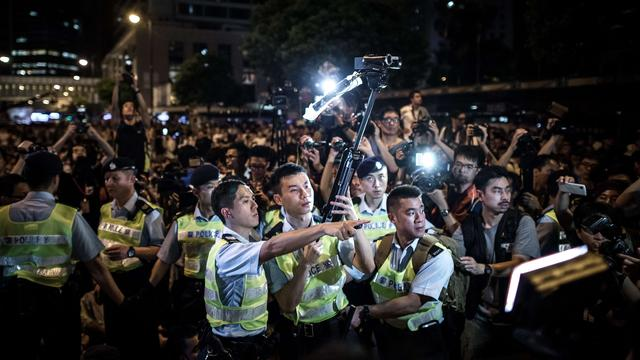 China arresteert activisten wegens betoging Hongkong