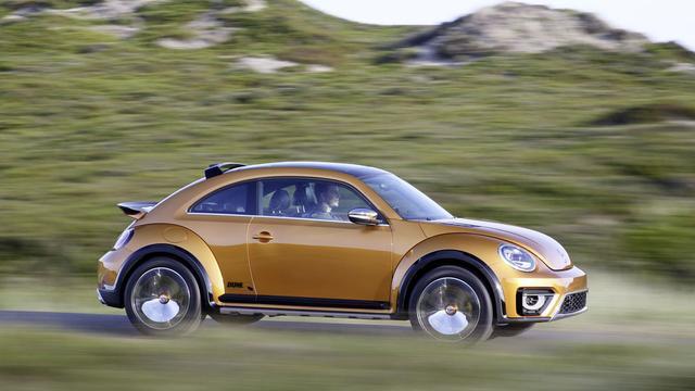 Volkswagen neemt Beetle Dune in productie