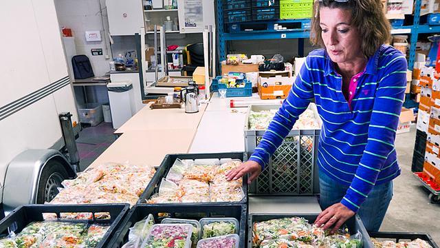 Steeds drukker bij voedselbanken
