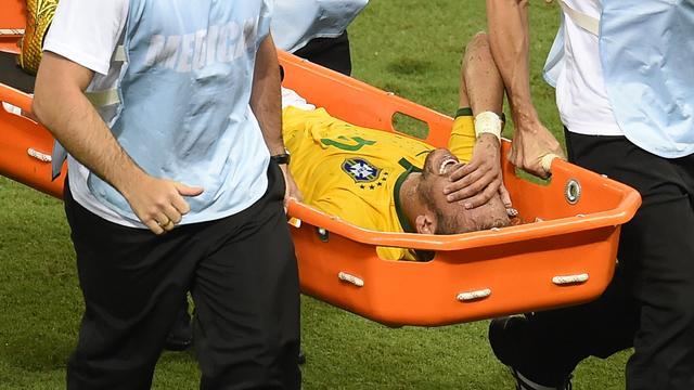 WK voorbij voor geblesseerde Neymar