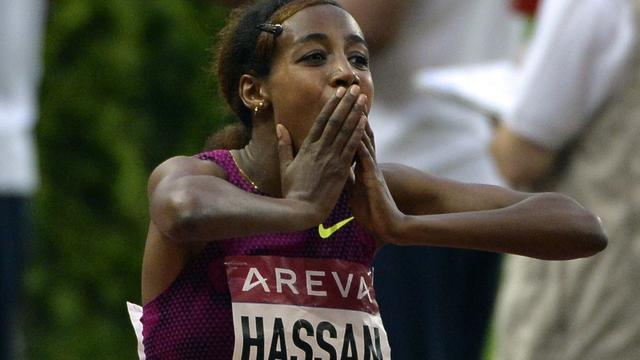 Atlete Hassan verbetert Nederlands record op 1500 meter