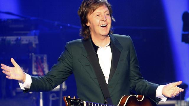 Paul McCartney is blij om weer te kunnen optreden