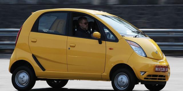 Nieuwe plannen voor Tata Nano