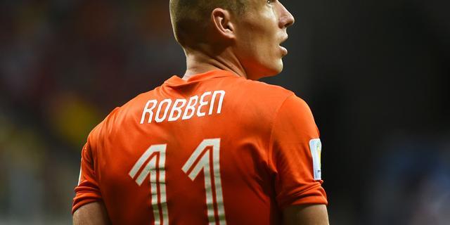 Robben bij laatste drie voor Europese prijs