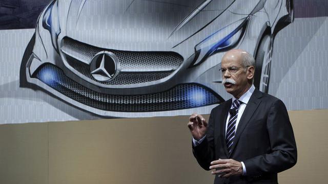 Omzet Daimler hoger na verkooprecord