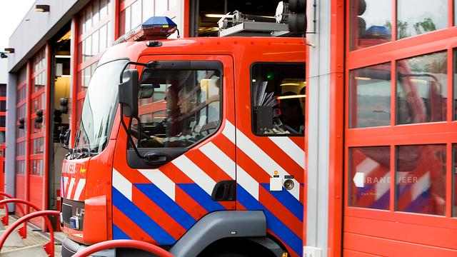 Schade na woningbrand in Leek