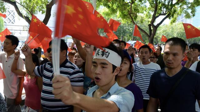 Chinese schepen bij betwiste eilanden