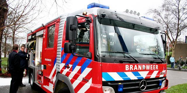 Grote brand in basisschool in Bloemendaal