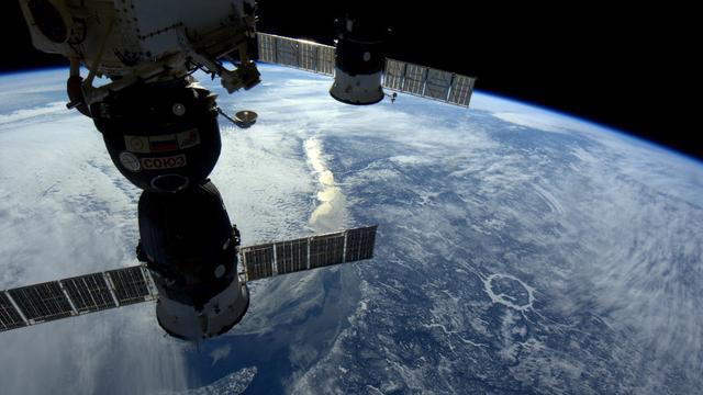 Astronaute volbrengt als eerste triathlon in de ruimte