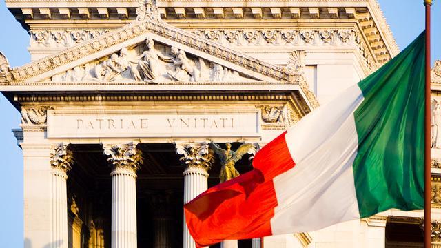 Voor het eerst deflatie in Italië sinds 1959