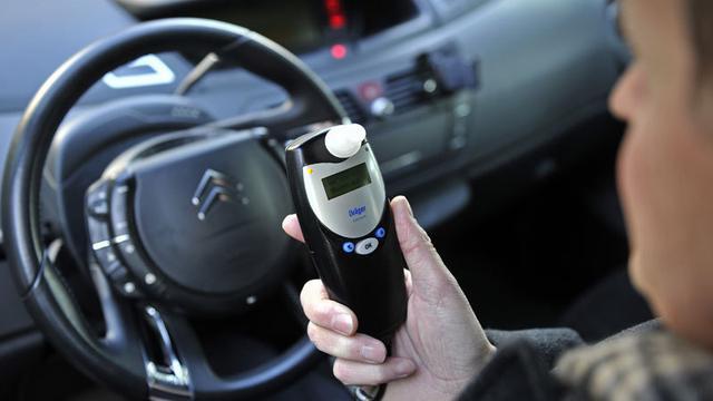 Alcoholslot valt uit op snelweg