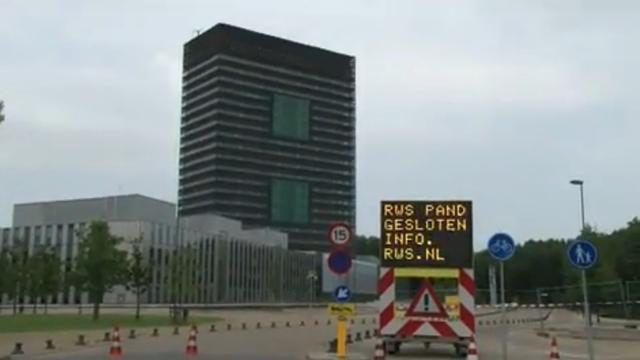'Trillend' gebouw Utrecht mogelijk hele week dicht