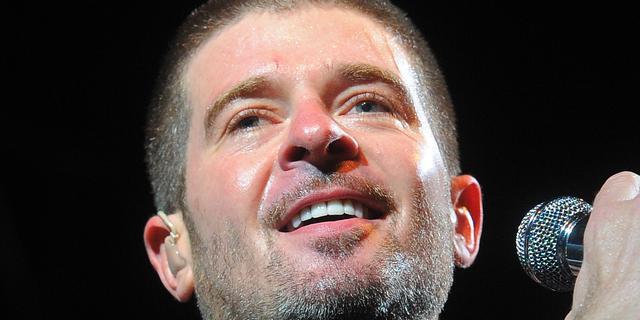 'Robin Thicke tekent hoger beroep aan in plagiaatzaak Blurred Lines'