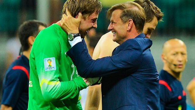Keeperstrainer Frans Hoek keert terug bij Nederlands elftal
