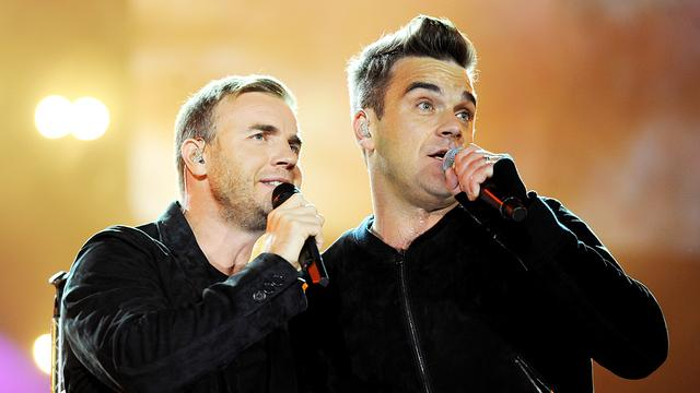 Robbie Williams treedt weer op met Take That