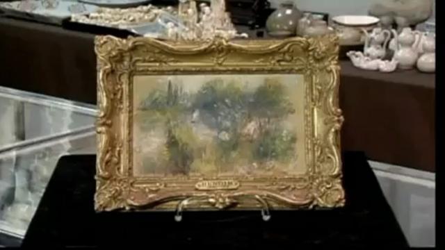 Amerikaanse koopt voor paar dollar Renoir