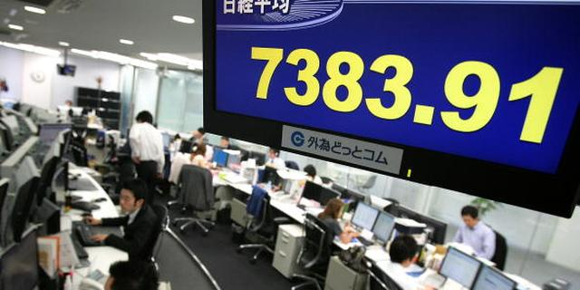 Nikkei hoger ondanks krimp economie