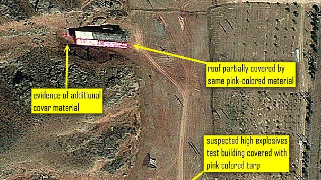 'Iran sloopt bewijs nucleaire activiteiten'
