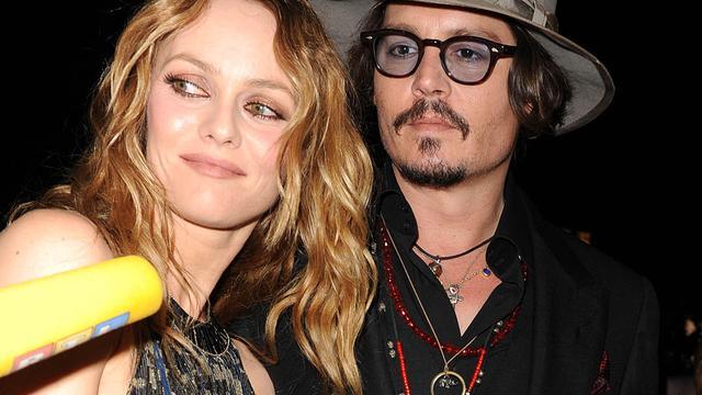 'Breuk Depp en Paradis om Angelina Jolie'