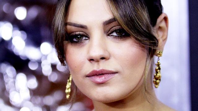 Mila Kunis nog nooit op date gegaan