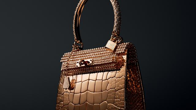 Hermès maakt gouden tassen van 1,5 miljoen euro