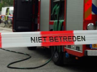 Brandweer kwam ter plaatse om het lek veilig te stellen.