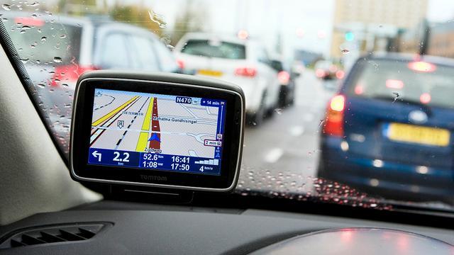 Gps-problemen voor navigatiesystemen TomTom