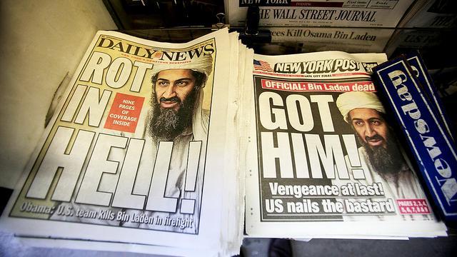 'Osama bin Laden al in hoofd geschoten voor inval'